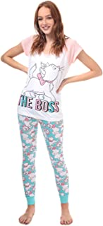 Disney Pyjama Aristocats Blanc Rose Femme