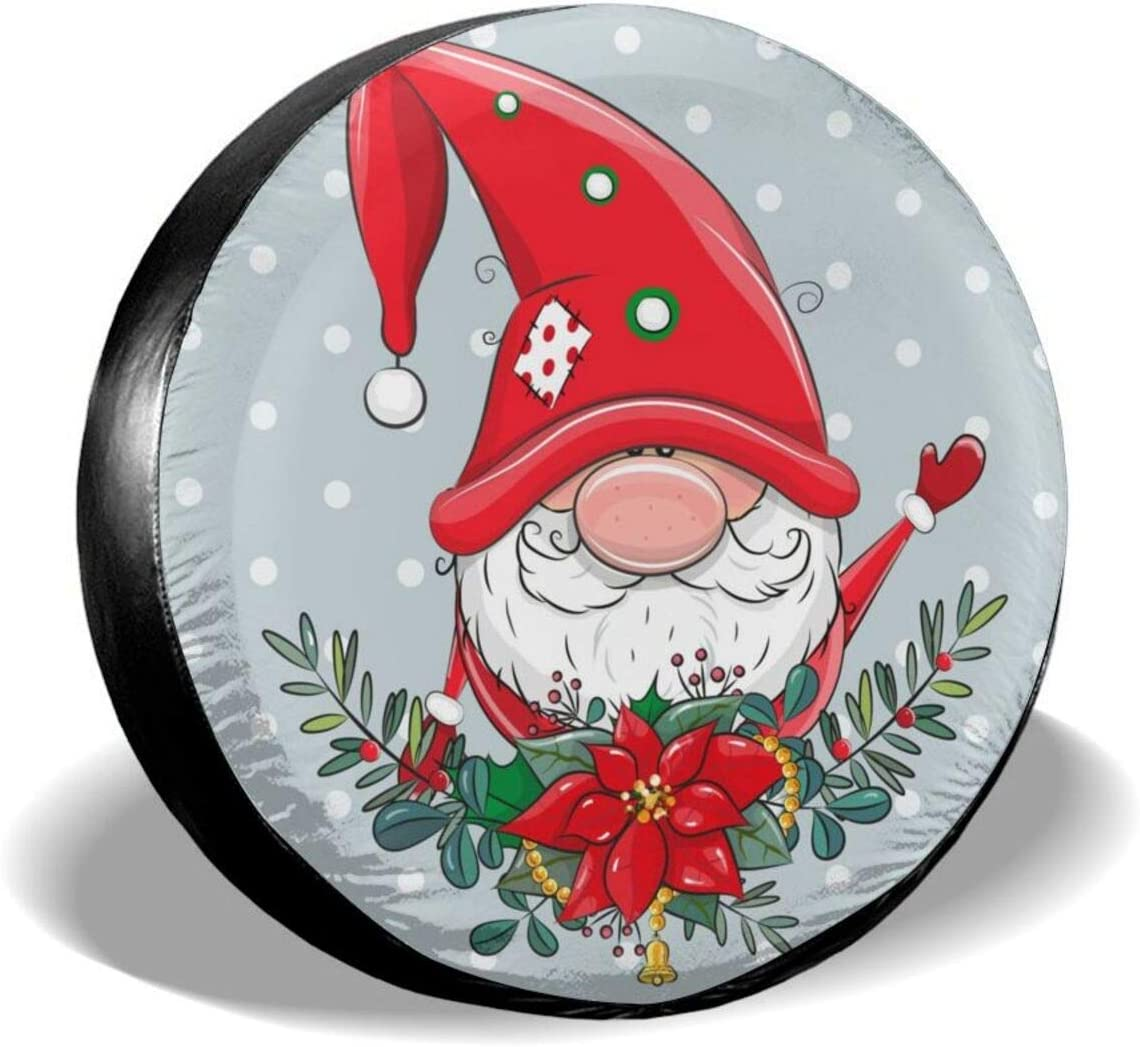 Dujiea New popularity Greeting Christmas Spare Wheel Tire Cover Tucson Mall Universal