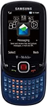 Samsung T359 Smiley Unlocked Phone with QWERTY Keyboard and 1.3MP Camera - Unlocked Phone - US Warranty - Black/Blue