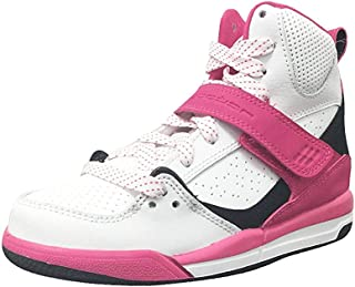 Jordan Flight 45 High GP White/Black-Vivid Pink