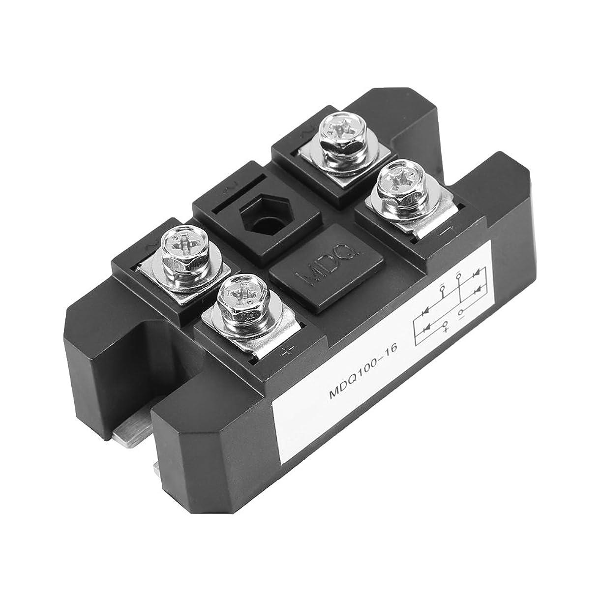 刺す抜本的なに勝る1pc単相ダイオードブリッジ整流器モジュール100A 1600V高出力4端子