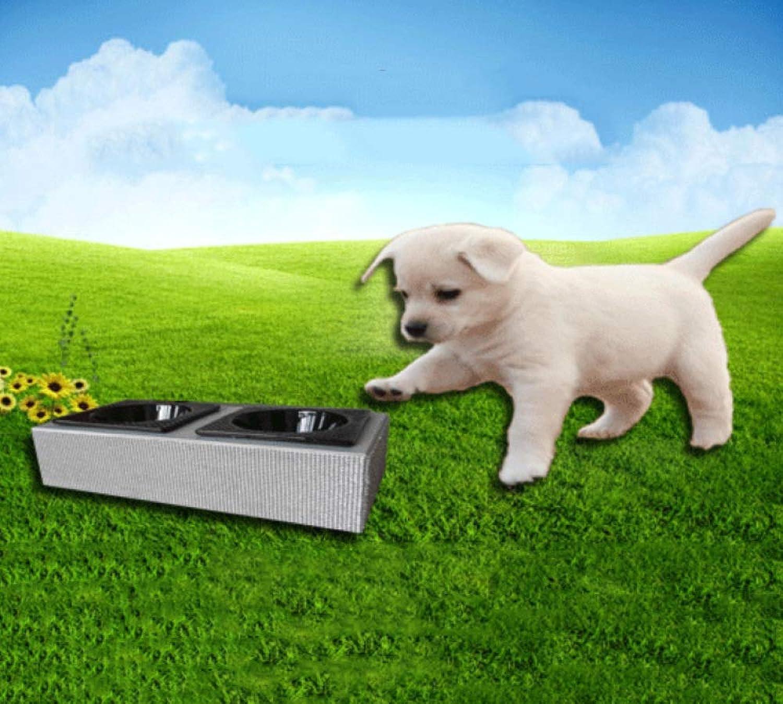 LIUQIAN Pet Bowl Rack Dog Utensils Dog Set Bowl