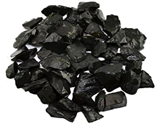 Shungite Stones for Water Purification 1-2 cm size Bulk Rough Natural Raw Shungite from Russia for Wicca Reiki and Energy Crystal Healing