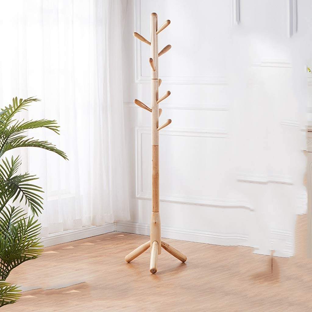 Seasonal Wrap Introduction Coat Rack Fashion Freestanding Tree with Hooks 9 Standin Free