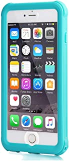 meritcase iPhone 6s Plus Waterproof Case, IP68 for 5.5 inch's iPhone 6 Plus/ 6s Plus Full Body Shockproof Snowproof Dirtproof Sandproof Case for Swimming Diving Surfing Snorkeling (5.5inch, Blue)