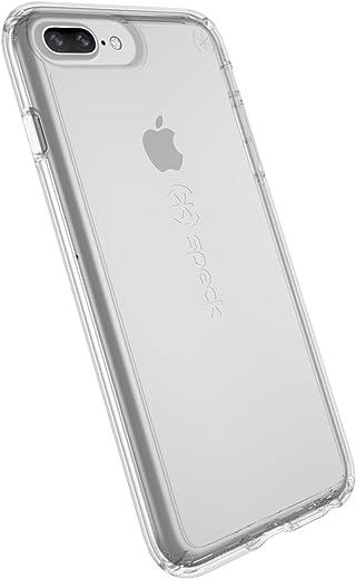 غطاء حماية جيمشيل للهاتف الخلوي آيفون 8 بلس من سبيك برودكتس، 7 بلس، 6S/6 بلس، وردي شفاف/أحمر شفاه iPhone 8/7/6S/6 103162-5085
