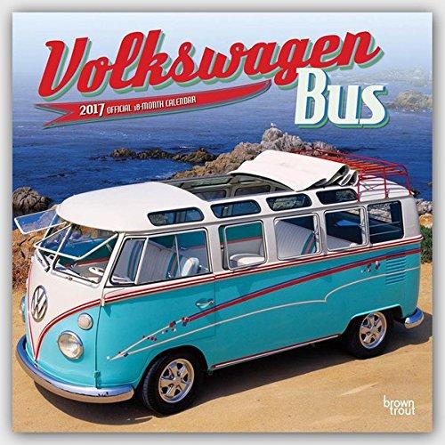 Volkswagen Bus - VW Bully 2017 - 18-Monatskalender: Original BrownTrout-Kalender [Mehrsprachig] [Kal