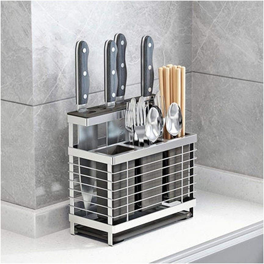 Kitchen knife holder Block without Knives Steel Silver Stainless Brand Japan's largest assortment new