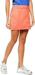 Top Ten 10 Falda Recta Naranja Falda para Mujer
