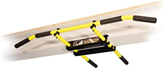 PRO Mountings I-Beam Pull up Bar/Chin up Bar (Yellow Long Bar with Bent Ends)