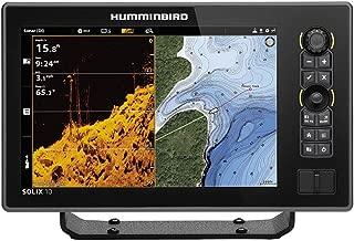 Humminbird SOLIX 10 G2 CHO Fish Finder with Chirp, MEGA DI+, GPS, and 10.1-Inch-Display