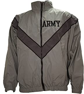US Army PT Jacket Old Style Gray