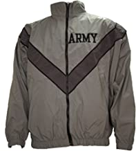 Genuine Issue US Army PT Jacket Old Style Gray
