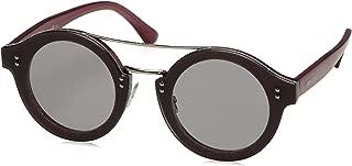 Jimmy Choo Women's Montie/S Vb Sunglasses, Plumglttr Pd, 64