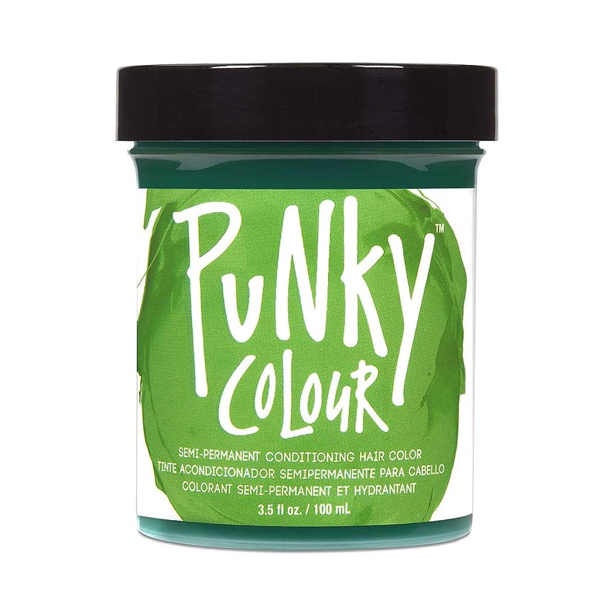 変なタバコ前奏曲JEROME RUSSELL Punky Colour Hair Color Crme Spring Green 3.5 oz by Jerome Russell