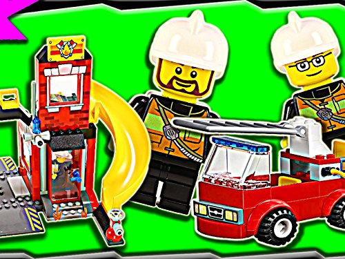 Clip: City Fire Emergency