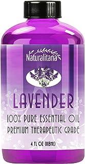 Best Lavender Essential Oil (4oz Bulk Lavender Oil) Aromatherapy Lavender Essential Oil for Diffuser, Soap, Bath Bombs, Ca...