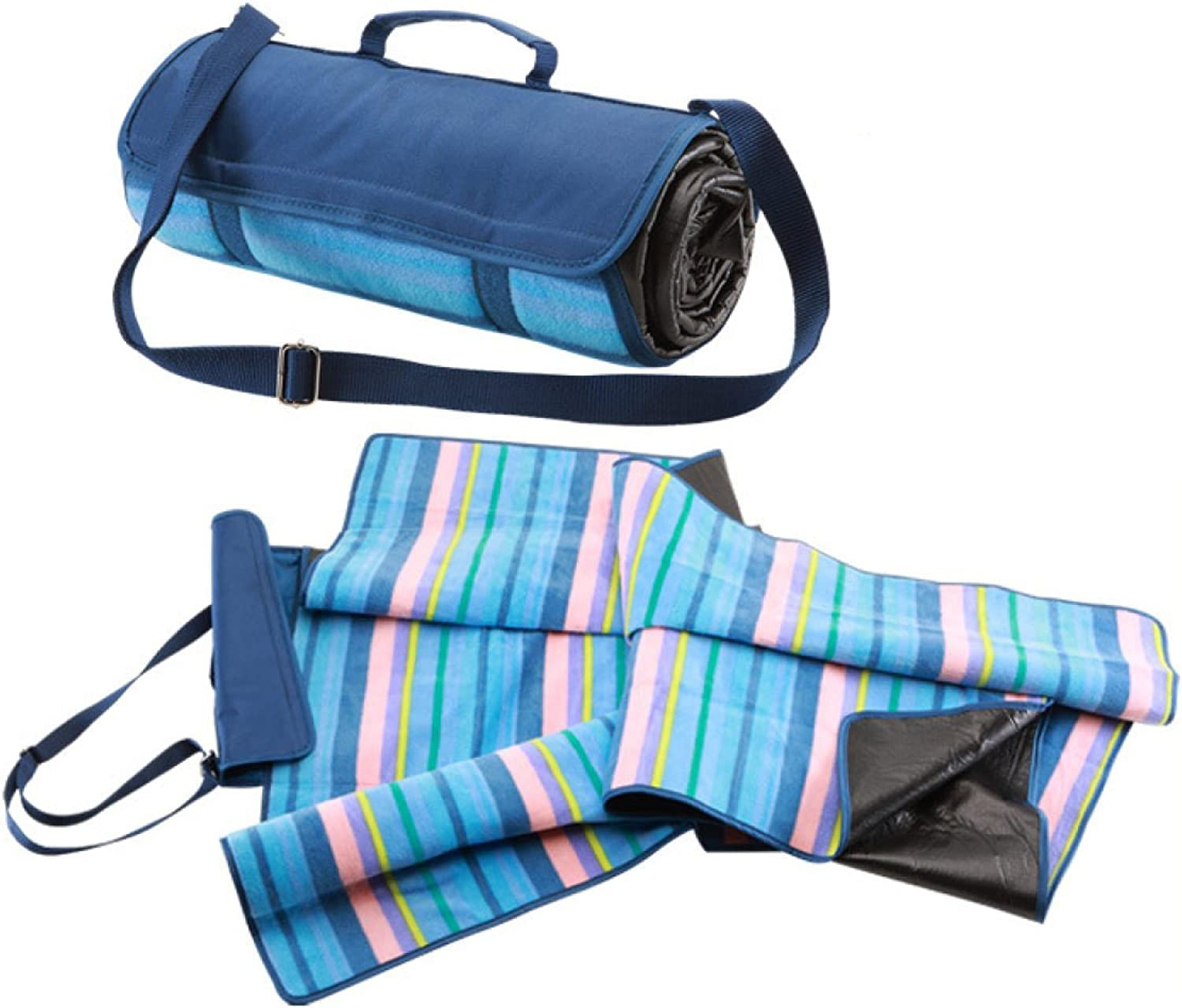 dfdc7f52aa97 Camping Waterproof Suede Foldable Picnic Mat 150X135cm Moistureproof ...