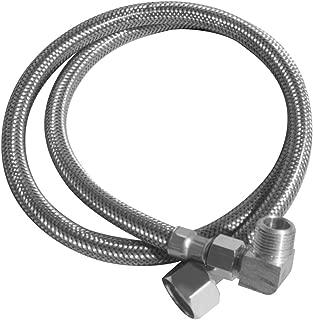 lsp kdw-548-pp Dishwasher供給線、SS Braid Pvc 3/ 8インチコーンを90度3/ 4インチGHT、48-inch長さで5/ 16インチ