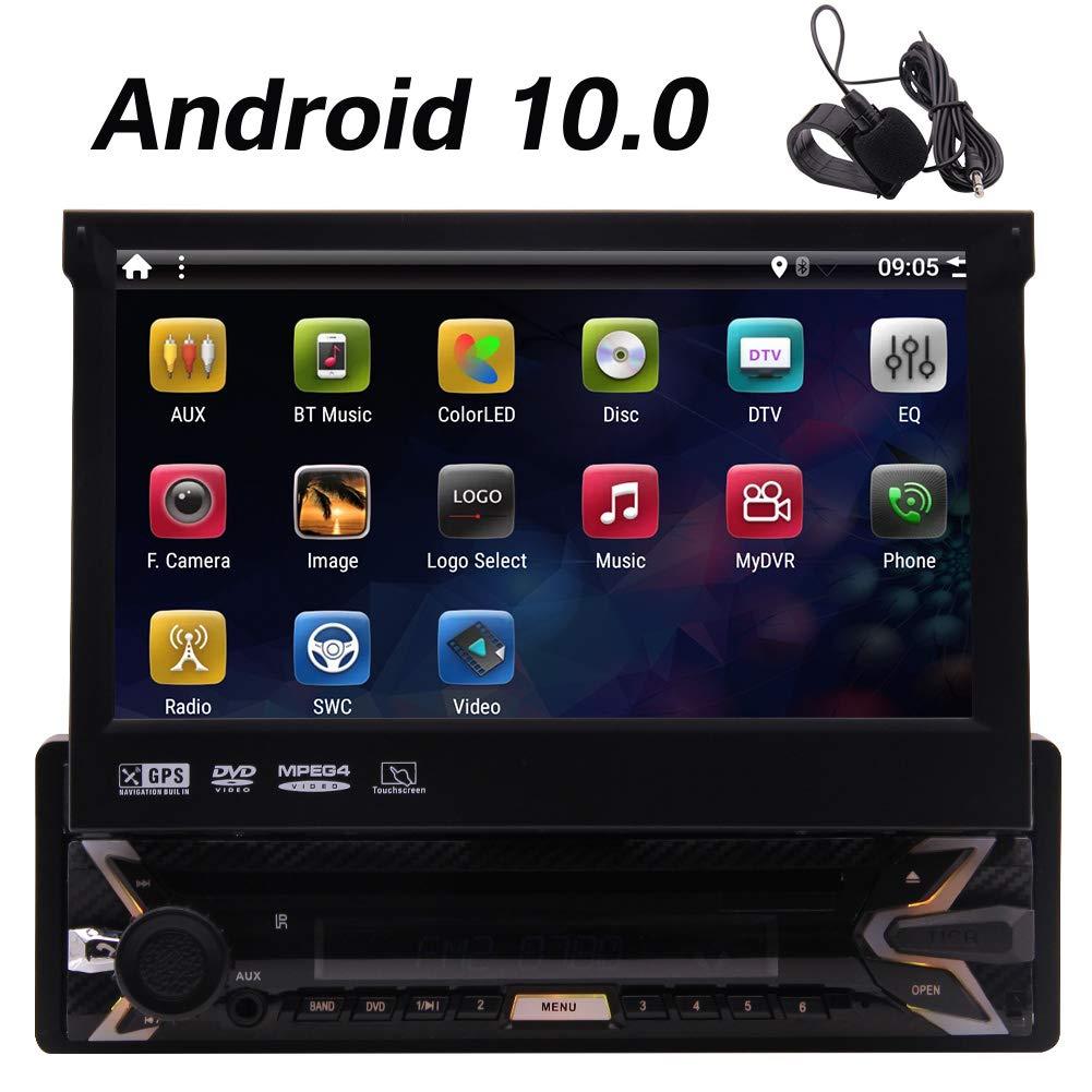 Individual 1 DIN Android Sistema 10,0 coche estéreo con ...