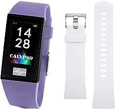 CALYPSO Klok model K8500/2 uit de collectie Smartwatch, behuizing 23,80/41,60 mm, digitaal, met rubberen band, lichtpaars