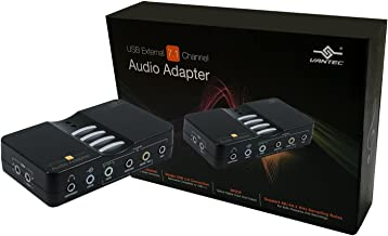 Vantec NBA-200U USB External 7.1 Channel Audio Adapter (Black)