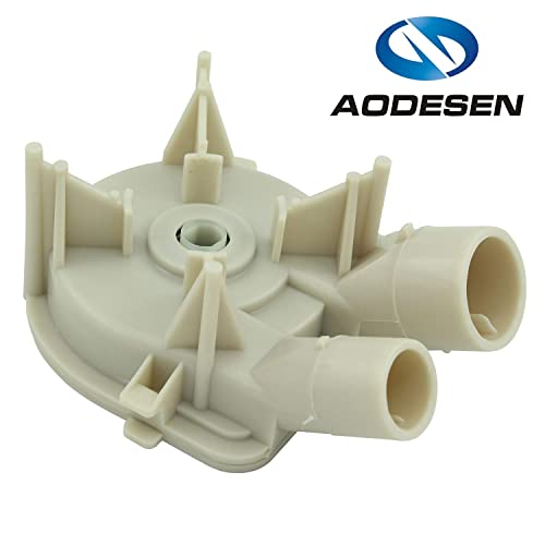 Aodesen 3363394 Washer Water Drain Pump Replacemengt Part for Whirlpool & Kenmore - Replaces 3363394 3352293
