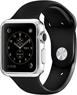 iWatch Case 42mm Series 1,HD Clear Case,CaseHQ Rugged Protective Slim Shock Resistant Soft TPU Case Cover for Apple iWatch Series 1/Original (2015)