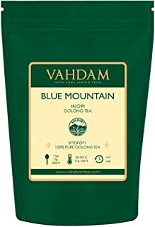 Imperial Oolong Tea Leaves from the Blue Mountains (25 Cups) - Oolong Tea for Weight Loss - Detox Tea, Slimming Tea, Weight Loss Tea, Sourced Direct from High Mountain Estates in South India, 1.76oz