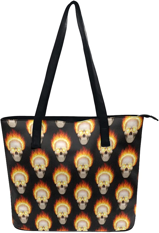 Women Tote Bags Top Handle Satchel Handbags PU Leather Shoulder Tote Bag