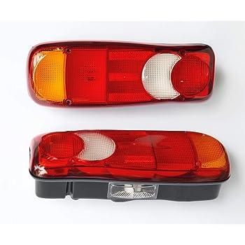 2 x fanali posteriori di ricambio, 12 V/24 V: Amazon.it: Auto e Moto