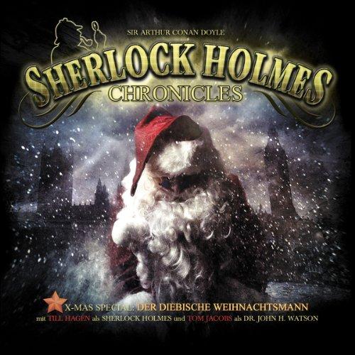 Der diebische Weihnachtsmann audiobook cover art