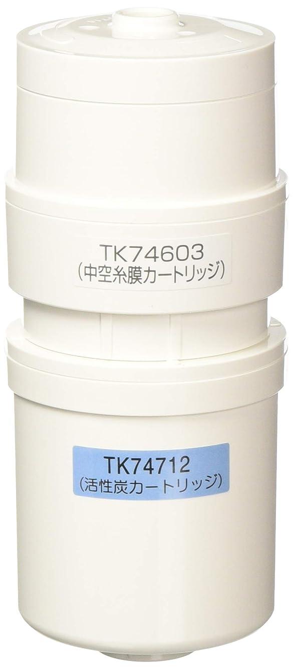 便宜顧問委任パナソニック アルカリイオン整水器用 交換カートリッジ 1個 TK74711