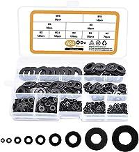 Bevestigingsmiddelen hardware ringenPlatte ringen Koolstofstaal Wasmachines Hardware Assortiment Set 684 STKS