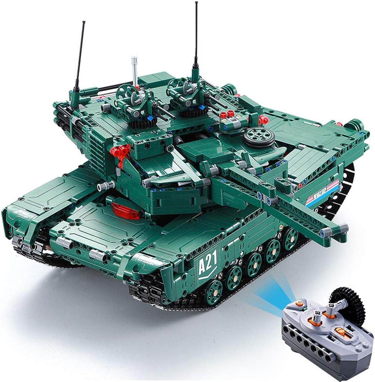 soporte minorista mayorista Yyz Militar Serie Tanque de Control Remoto M1A2 M1A2 M1A2 Grandes Bloques de construcción de Juguete Giratorio torreta y Lanzamiento de misiles Regalo de cumpleaños  descuento de ventas en línea