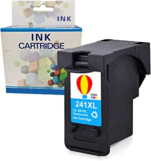 A1INK Remanufactured Ink Cartridge Replacement for Canon CL-241XL 241 XL Used in Canon PIXMA TS5120 MX472 MX452 MG3220 MG3520 MG3620 MG2220 MG2120 MX392 MX532 MX432 MX512 MX522 (1 Tri-Color)