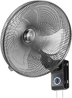 CRZ Ventilador de Pared Ventilador eléctrico Industrial de Metal de Pared de 18 Pulgadas, oscilante, silencioso de 3 velocidades para Uso Industrial, Comercial y residencial