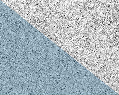 Struktur Tapete EDEM 80309BR60 XXL Vliestapete zum Überstreichen streichbar spachtel-putz-dekor maler weiß 26,50 qm