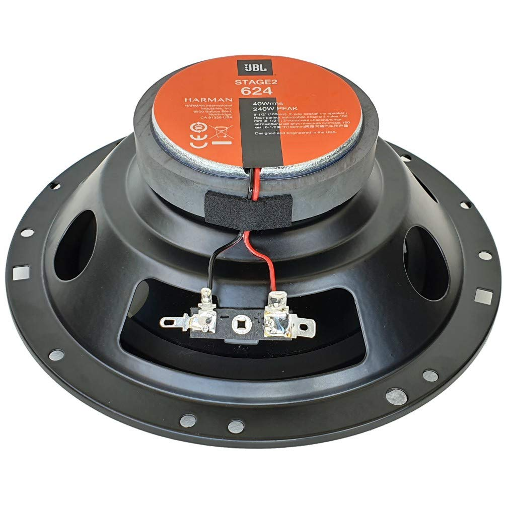 2 2 Way Coaxial Speakers Compatible With Jbl Stage2 624 Amazon Co Uk Electronics