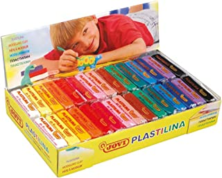 Jovi - Plastilina vegetal, un paquete de 30 unidades x 50 gr, multicolor