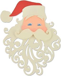Sizzix 661299 Santa par Pete Hughes Outil de Scrapbooking Thinlits Die Plastique Multicolore, 11 x 9.5 cm, Lot DE 3 Pièces