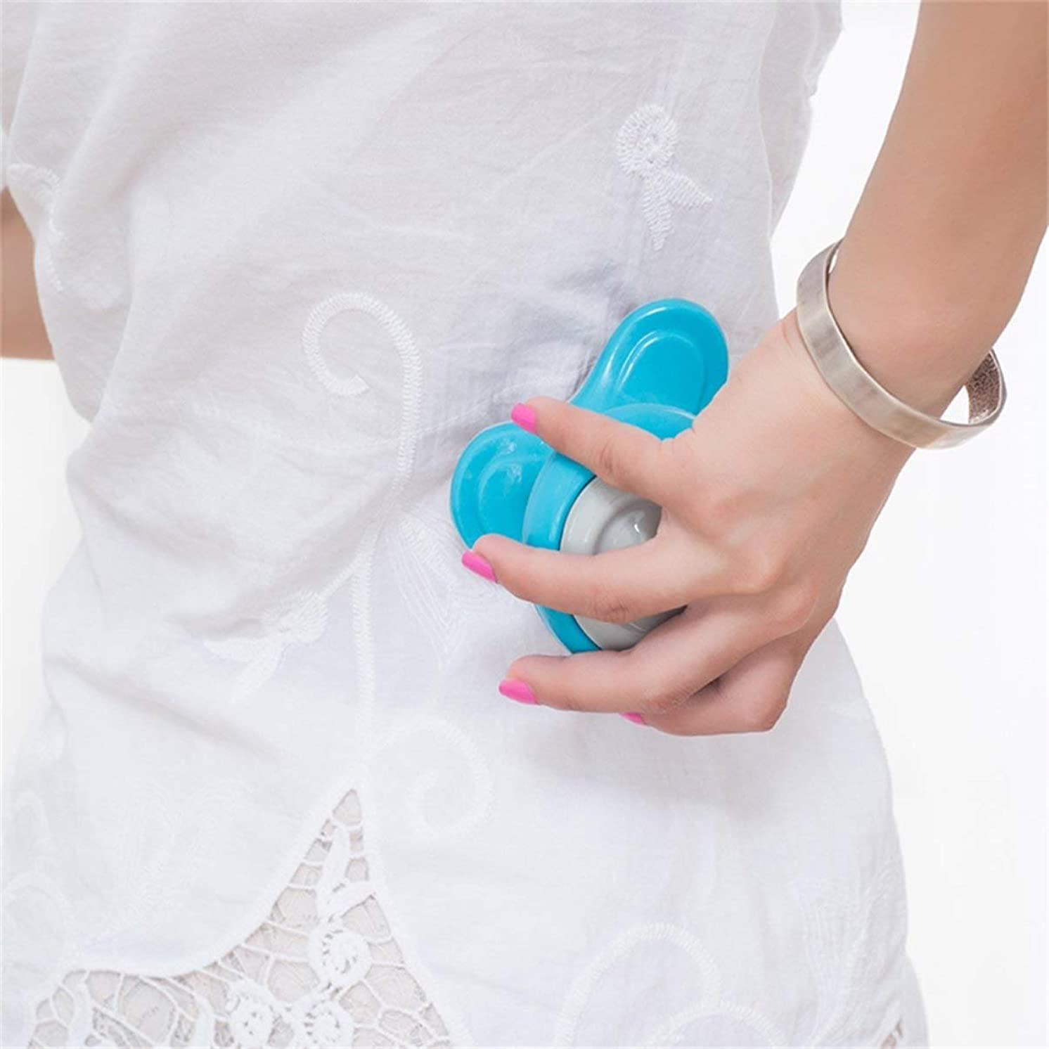 スラム街二週間対角線Mini Electric Handled Wave Vibrating Massager USB Battery Full Body Massage Ultra-compact Lightweight Convenient for Carrying