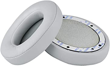 Beats Studio Replacement Ear Pads - Upgraded Studio 2/3 Earpads Compatible with Studio Wired B0500 / Wireless B0501 / Studio 2 and Studio 3 Over Ear Headphones ONLY (Does NOT FIT Beats Solo) (Grey)