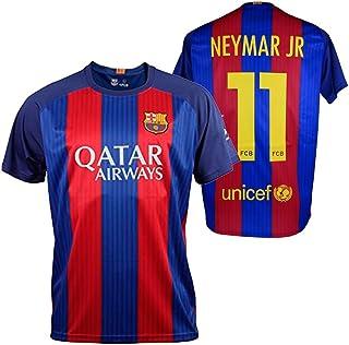 06ef7cbed6 FC BARCELONA- Camiseta 1ª Equipación Adulto 2016-2017, Réplica Oficial  NEYMAR- Talla