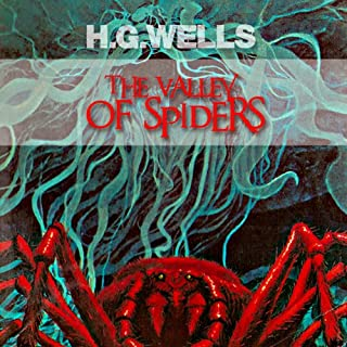 The Valley of the Spiders audiobook cover art