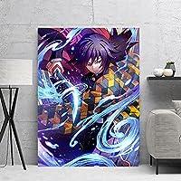義正富岡キャンバスアートポスターとウォールアートの写真プリント現代のファミリーベッドルームの装飾