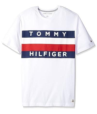 Tommy Hilfiger Big and Tall Flag Logo T Shirt