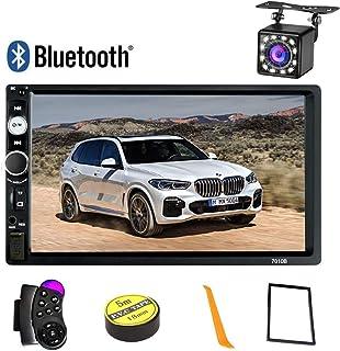2 Din Autoradio Bluetooth,Écran tactile HD de 7 pouces Poste Radio Voiture Lecteur MP5..