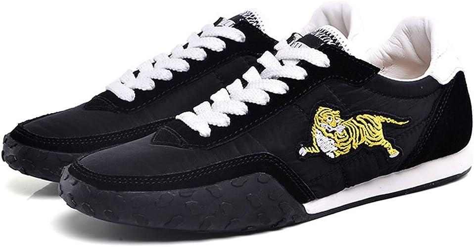 GAOLIXIA Hommes Sport Chaussures Printemps été Broderie Léger baskets En Plein Air De Mode Casual Chaussures Course à pied Trainers Athlétique Marche Gym Chaussures