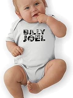 Billy Joel Unisex Baby Bodysuits Babes Girls Boys One-Piece Infantile Suit